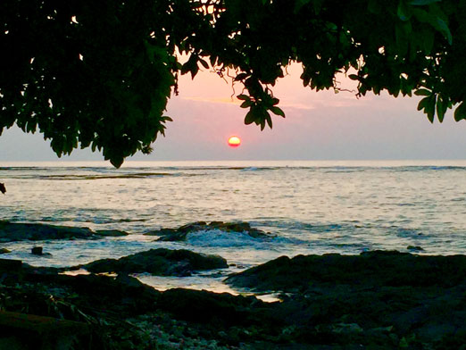 Kealakekua Bay sunset
