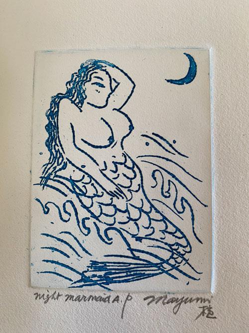 Mermaild Mayumi Oda artwork